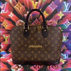 🖤🖤🖤Authentic Louis Vuitton Alma PM